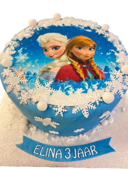Ijskoningin Elsa en Zus Anna