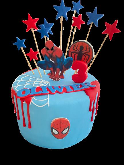 Spider Man Blauw