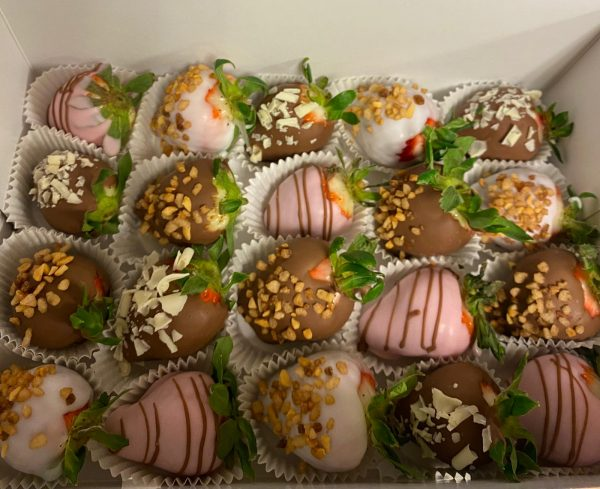 Chocolade Aardbeien