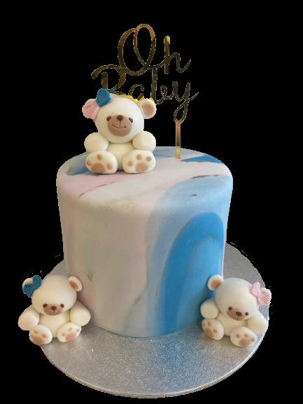 Teddybeer Taart